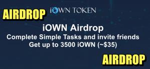 Lee más sobre el artículo Airdrop iOWN Gana hasta 3500 (35 usd) gratis