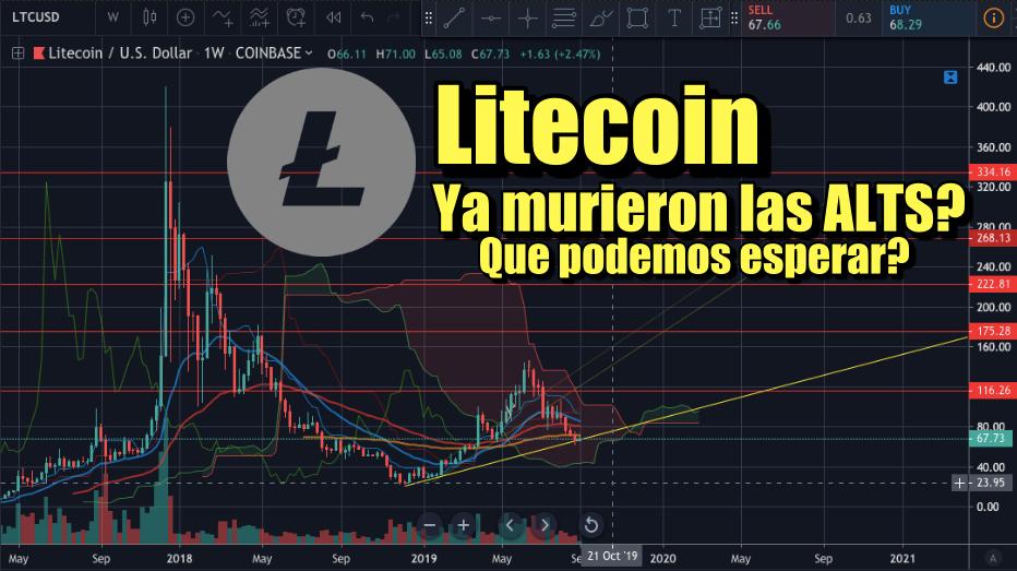 En este momento estás viendo Litecoin y las Altcoin ya murieron? Que podemos esperar?