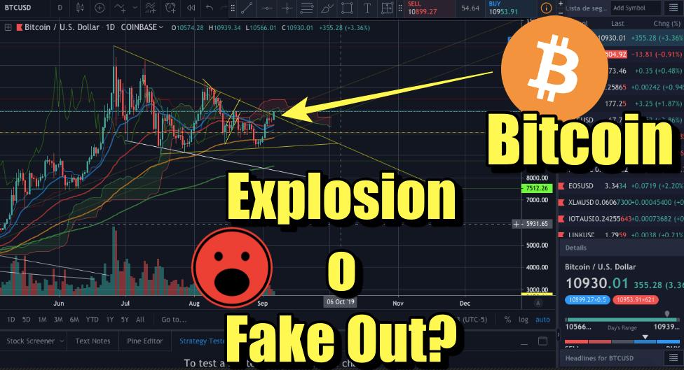 En este momento estás viendo Bitcoin explotando a los 14k o fakeout?