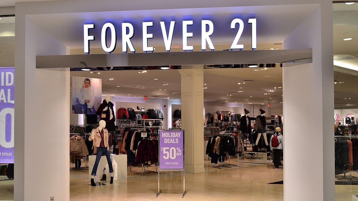 En este momento estás viendo Forever 21 archivos de bancarrota del Capítulo 11