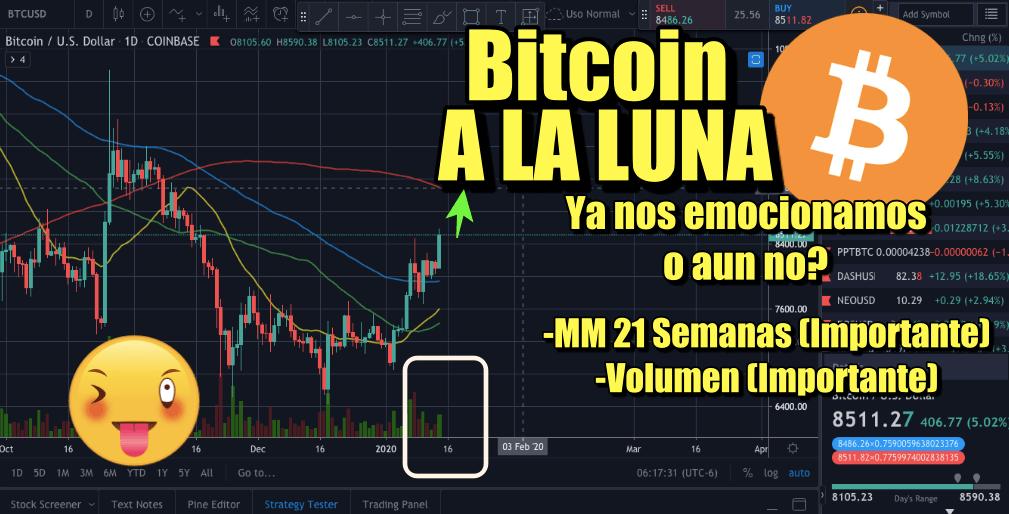 En este momento estás viendo Bitcoin a la LUNA !!!!  ya nos emocionamos o aun no?