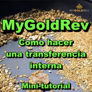 Lee más sobre el artículo MyGoldRev Minitutorial: Como hacer una Transferencia Interna