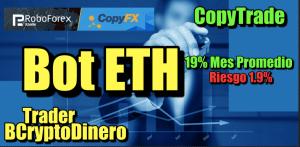 Lee más sobre el artículo BOT de Ethereum disponible ahora para Copy Trade