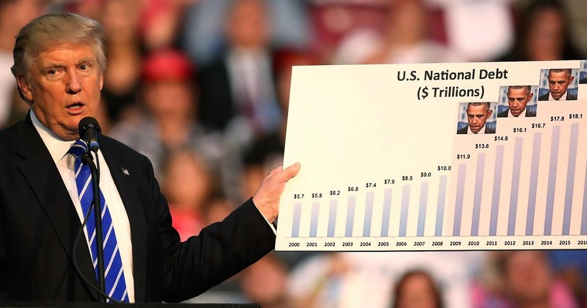 En este momento estás viendo Trump ha firmado $ 4.7 trillones de deuda en la ley federal, dice el regulador del presupuesto