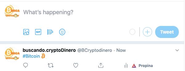 En este momento estás viendo NUEVO Bitcoin EMOJI en Twitter !!