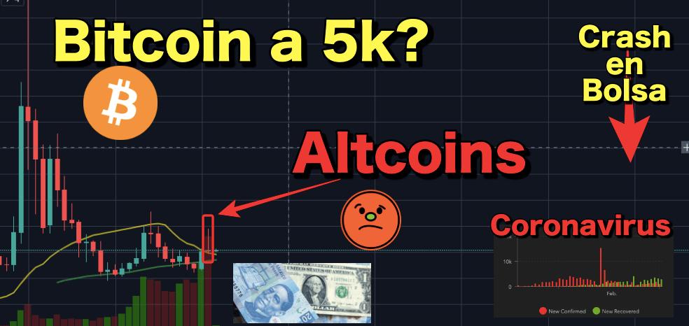 En este momento estás viendo Altcoins pueden caer fuertemente? Bitcoin a 5k? Crash Financiero y Rifa de 0.002 BTC