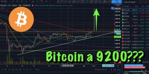 Lee más sobre el artículo Subira Bitcoin a 9200???