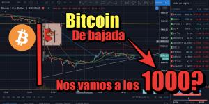 Lee más sobre el artículo OMG Bitcoin bajando nos vamos a los 1000???