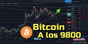 Lee más sobre el artículo Bitcoin rompiendo hacia los 9800 !!