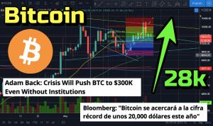 Lee más sobre el artículo WOW Bitcoin a 28k a finales de este año? y a 300k el 2021?