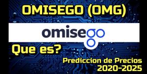 Lee más sobre el artículo Omisego (OMG) Que es? Predicciones de precio 2020-2025… Me conviene invertir?