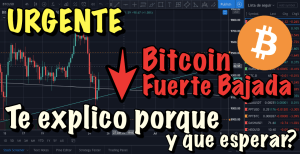 Lee más sobre el artículo URGENTE Bitcoin Bajando con fuerza… Te explico porque y que podemos esperar !!!