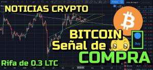 Lee más sobre el artículo Bitcoin Señal de COMPRA + Noticias Crypto + Rifa de 0.3 LTC