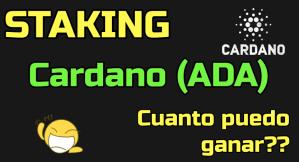 Lee más sobre el artículo Staking de CARDANO ADA… cuanto puedo ganar?? (Calucladora staking cardano)