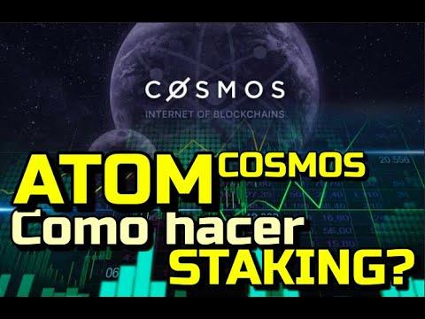 Lee más sobre el artículo Como hacer Staking de Cosmos ATOM???