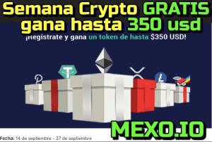 Lee más sobre el artículo Gana hasta 350 usd gratis en este nuevo Exchange «Mexo.io»