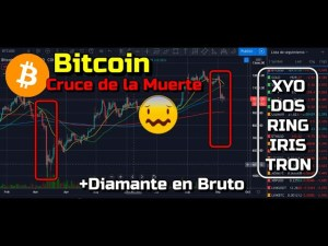 Lee más sobre el artículo Bitcoin posible Cruce de la Muerte !!! + XYO, DOS, RING, IRIS, TRON y Diamante!!