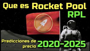 Lee más sobre el artículo Rocket Pool (RPL) Que es?? Predicciones de precio 2020-2025… Me conviene invertir??