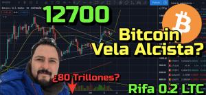 Lee más sobre el artículo Bitcoin a 12700 (bandera alcista)?? 80 Trillones y Lunes Negro?? + ADA, XLM, CRO, Waves, TRAC, ANKR!