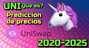 Lee más sobre el artículo Uniswap (UNI) Que es?? Prediccion de precios 2020-2025… Me conviene invertir??