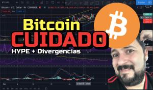 Lee más sobre el artículo Bitcoin CUIDADO con el Hype y las divergencias !!!