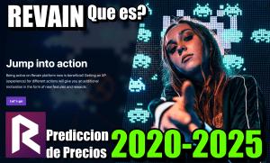 Lee más sobre el artículo Revain (REV) Que es?? Prediccion de precios 2020-2025… Me conviene invertir??