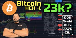 Lee más sobre el artículo BTC formando HCH a lo 23k?? + DOS, Sushi, KUS, AAVE y ZIL !!