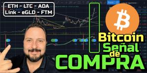 Lee más sobre el artículo Bitcoin con SEÑAL DE COPMPRA !!!!  + ETH, LTC, ADA, LINK, eGLD y FTM !!