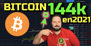 Lee más sobre el artículo Bitcoin a 144,000 ESTE AÑO 😱😱??? + 16 Altcoins !!! 🤯
