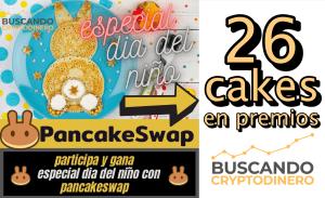 Lee más sobre el artículo 🐰 26 CAKES DE REGALO 🥞➤  Concurso del día del Niño 2021 BCD !!!