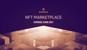 Lee más sobre el artículo Binance lanzará mercado NFT en junio