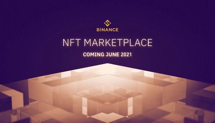 En este momento estás viendo Binance lanzará mercado NFT en junio