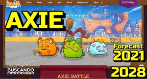 Lee más sobre el artículo Axie Infinity (AXS) #gaming #nft 🔥 ☞ Predicción de PRECIOS 🤑 2021 2026 ☜    Me CONVIENE Invertir?