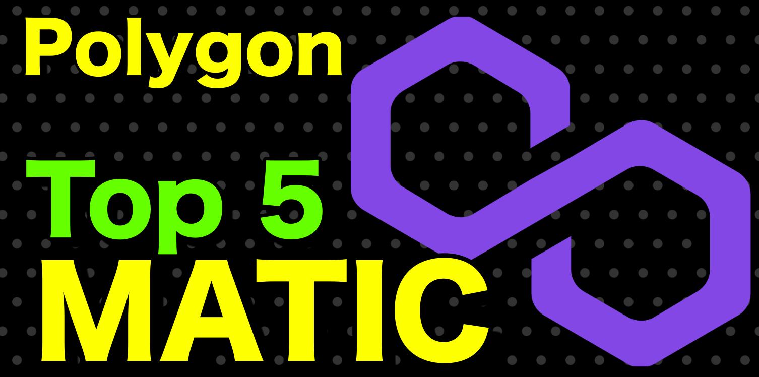En este momento estás viendo 🔥 Ecosistema de Polygon Matic y sus 5 proyectos mas fuertes !!