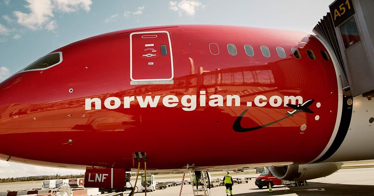 Norwegian Air planea aceptar bitcoin por medio de su nueva casa de cambio en Europa