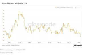 Lee más sobre el artículo La caída de las direcciones de «ballenas» de Bitcoin sugiere que el mercado podría estar descentralizándose
