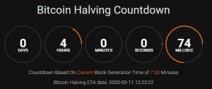 Lee más sobre el artículo Bitcoin Halving..  a 4 horas