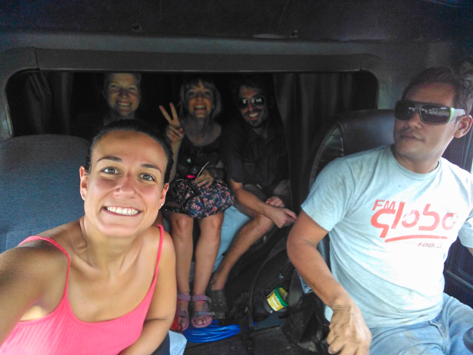 Autostop en Costa Rica. Ruta Bagaces - Tilarán