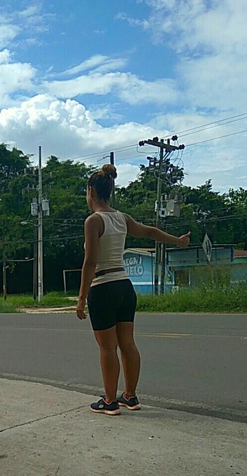 Haciendo autostop en Costa Rica