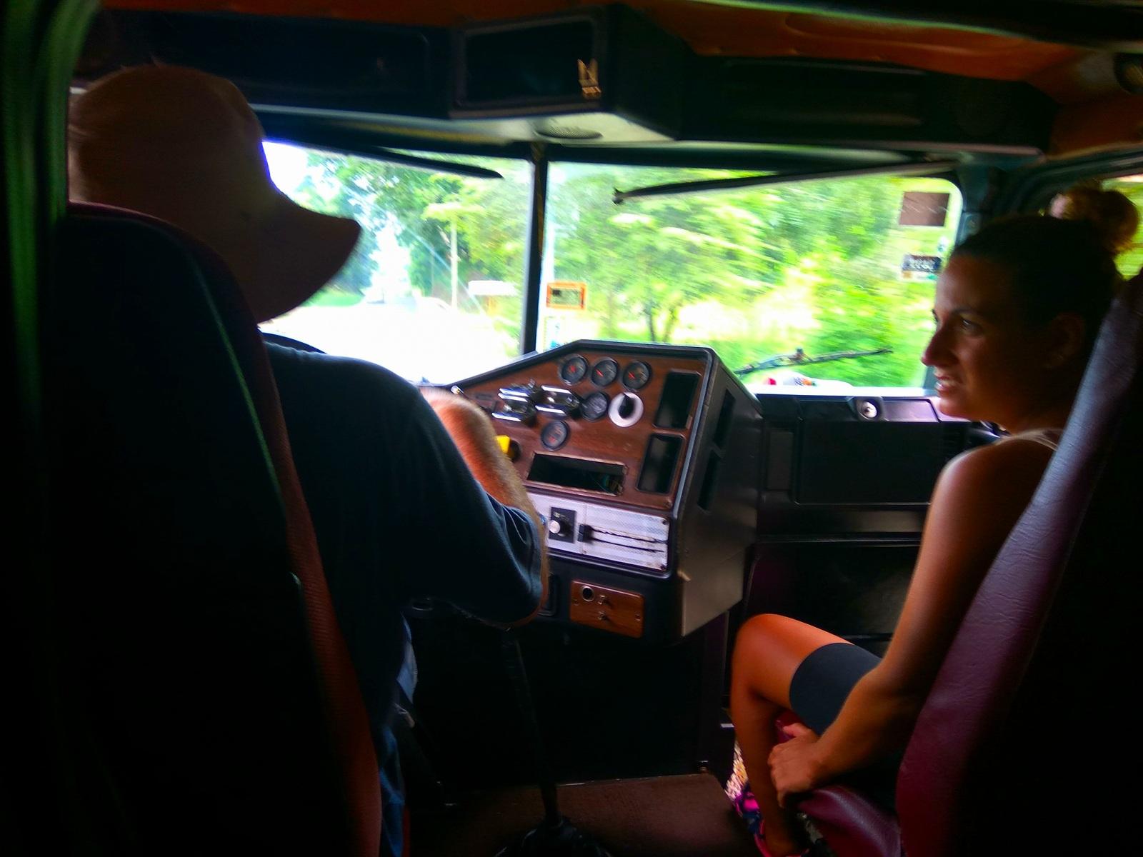 Autostop en Costa Rica. Ruta Nandayure - Paquera