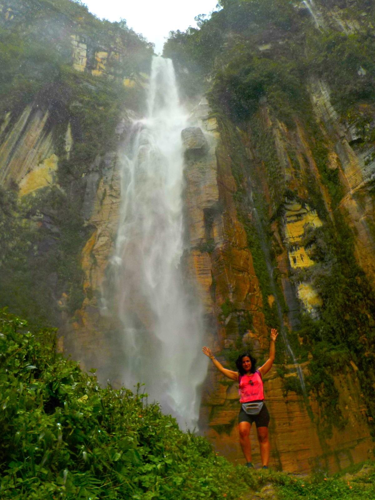 Catarata de Yumbilla, Chachapoyas, Perú