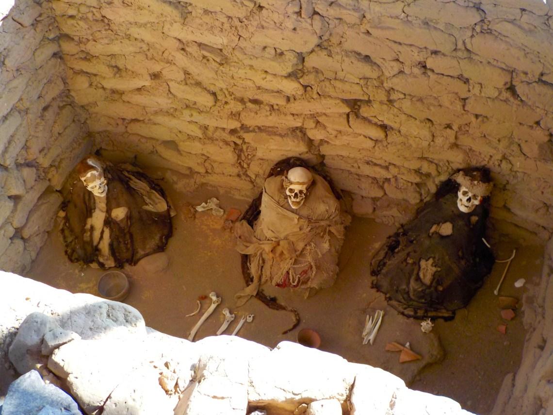 Cementerio de Chauchilla, Nazca, Perú
