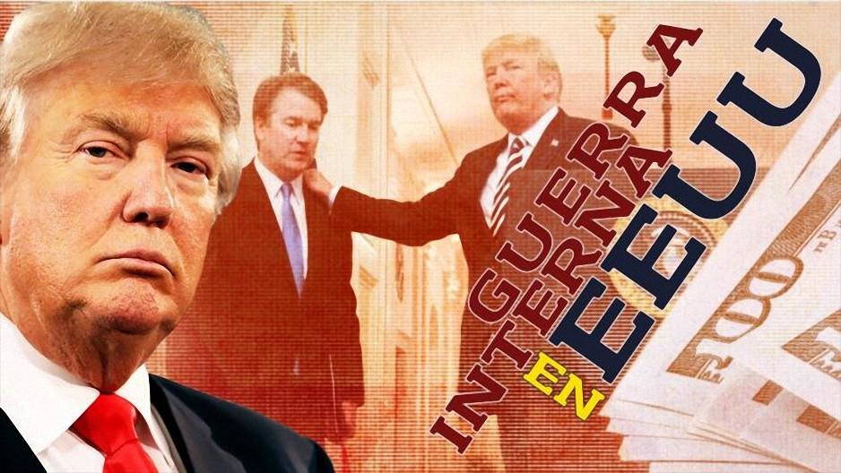 Detrás de la Razón; Conspiración Q: Guerra entre Trump, caída del dólar y el nuevo orden del mundo