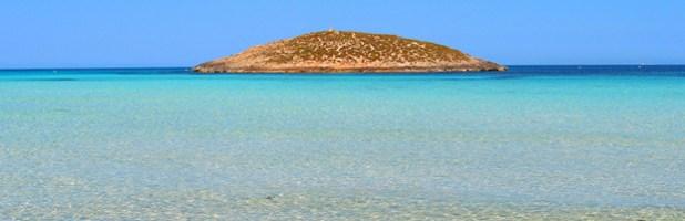 Que ver en Formentera. Aguas Cristalinas