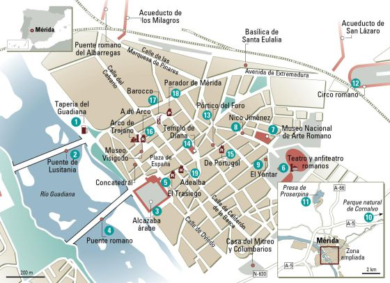 ruta por Mérida