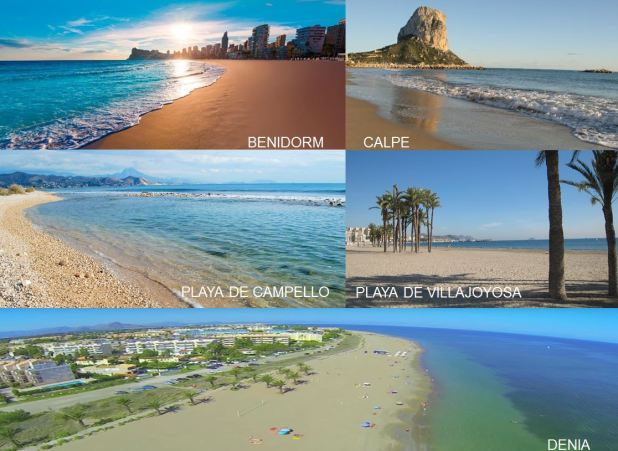 Playas Costa Blanca