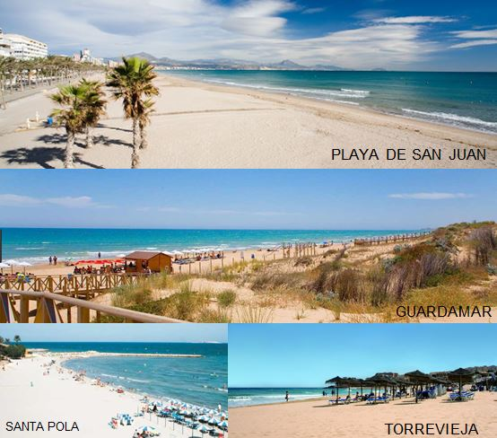 Playas de Alicante
