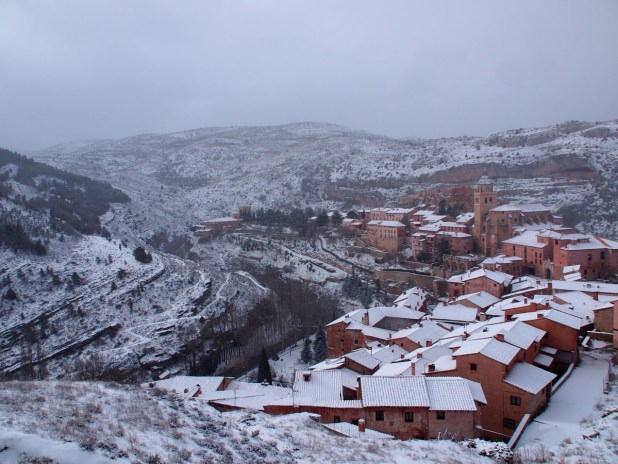 navidad en Albarracín