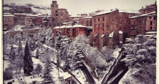 Albarracín nevado