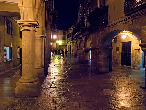 noche en Santiago